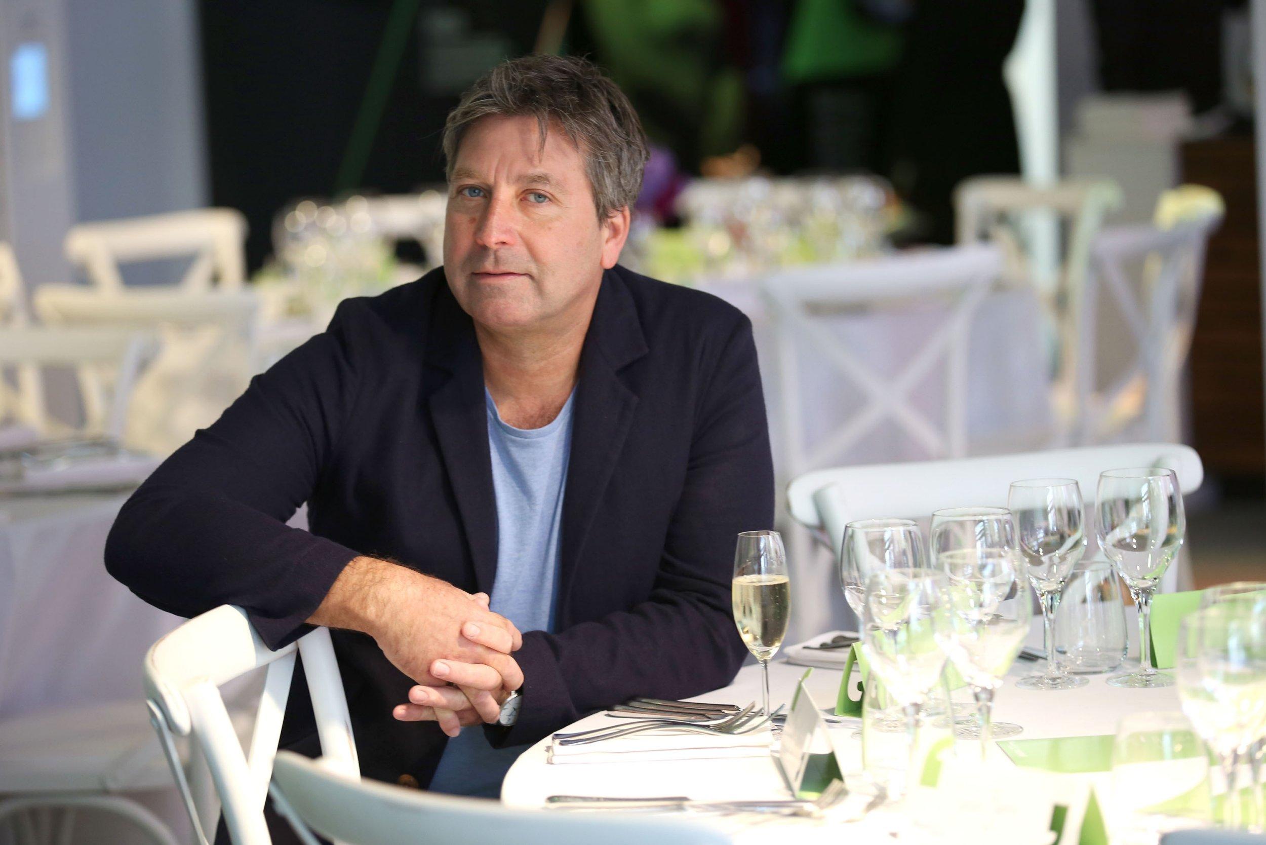 John Torode reveals reason for festive hospital dash as he thanks fans for support