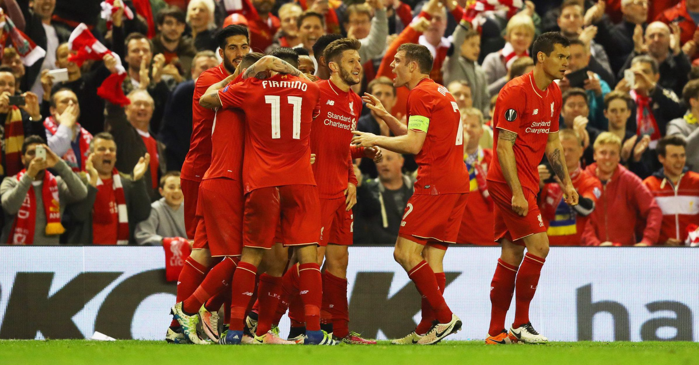 In pictures: Liverpool beat Villarreal 3-0 to book their place in the Europa League final