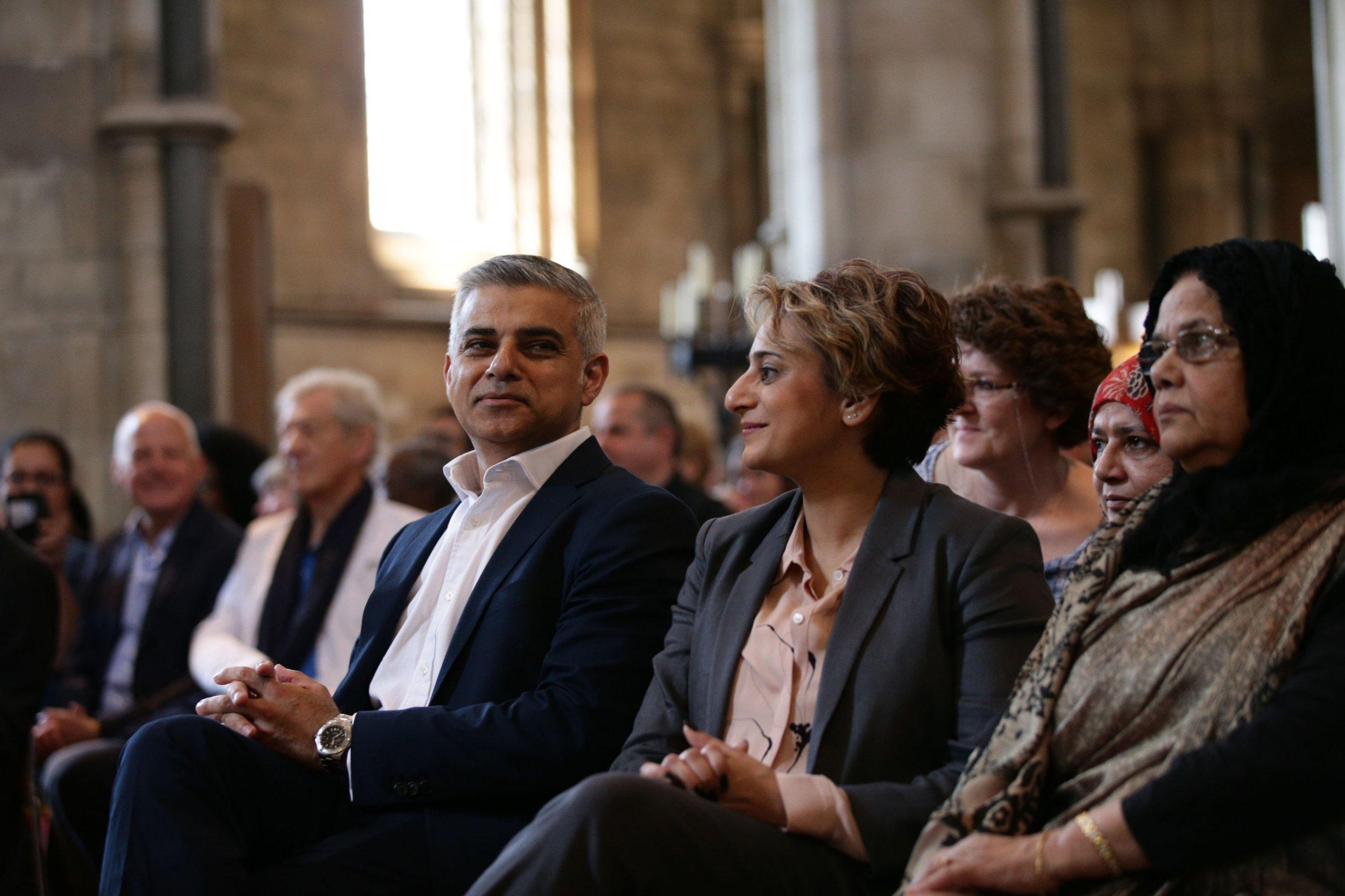 Sadiq Khan has been officially sworn in as Mayor of London