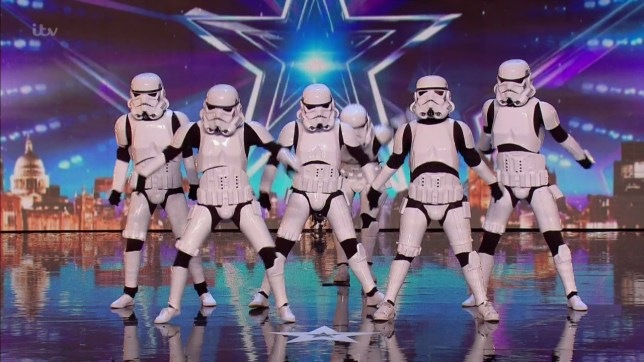 Boogie Storm performing for the judges during the auditions for 'Britain's Got Talent'. Broadcast on ITV1 HD. Featuring: Boogie Storm Where: United Kingdom When: 07 May 2016 Credit: Supplied by WENN **WENN does not claim any ownership including but not limited to Copyright, License in attached material. Fees charged by WENN are for WENN's services only, do not, nor are they intended to, convey to the user any ownership of Copyright, License in material. By publishing this material you expressly agree to indemnify, to hold WENN, its directors, shareholders, employees harmless from any loss, claims, damages, demands, expenses (including legal fees), any causes of action, allegation against WENN arising out of, connected in any way with publication of the material.**