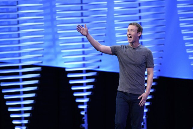Mark Zuckerberg, founder and chief executive officer of Facebook Inc., speaks during the Facebook F8 Developers Conference in San Francisco, California, U.S., on Tuesday, April 12, 2016. Zuckerberg outlined a 10-year plan to alter the way people interact with each other and the brands that keep advertising dollars rolling at the world's largest social network. Photographer: Michael Short/Bloomberg via Getty Images