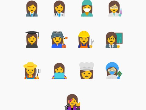 Google wants feminist emojis which depict women working (not dancing or getting married)
