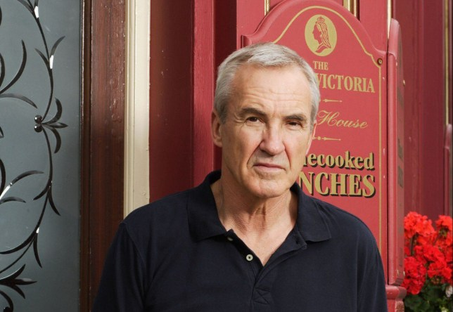 Television programmes: EastEnders. BBC Picture shows: LARRY LAMB as Archie Mitchell. Generic. WARNING: Use of this copyright image is subject to the terms of use of BBC Pictures' BBC Digital Picture Service. In particular, this image may only be published in print for editorial use during the publicity period (the weeks immediately leading up to and including the transmission week of the relevant programme or event and three review weeks following) for the purpose of publicising the programme, person or service pictured and provided the BBC and the copyright holder in the caption are credited. Any use of this image on the internet and other online communication services will require a separate prior agreement with BBC Pictures. For any other purpose whatsoever, including advertising and commercial prior written approval from the copyright holder will be required.