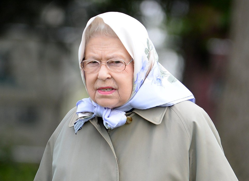 """The Queen watches her horse """"Murthwaite Dawn Chorus"""" win the Fells Class at the Royal Windsor Horse Show in Windsor, Berkshire, UK, on the 13th May 2015.nnn"""