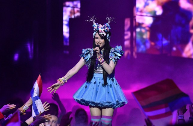 Mandatory Credit: Photo by IBL/REX/Shutterstock (5684094bj) Jamie-Lee Kriewitz, Germany Eurovision Song Contest, Final, Stockholm, Sweden - 14 May 2016
