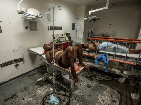 In pics: The crisis-hit Venezuela hospital that will make you so grateful for the NHS