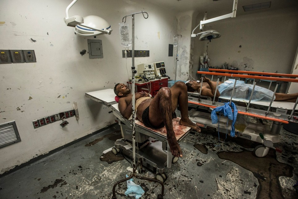 Thank the lord for the NHS - take a look at a hospital in Venezuela