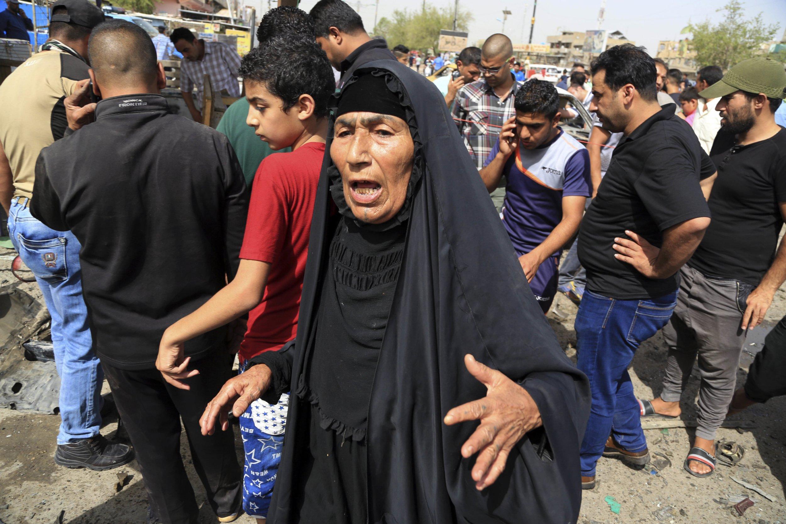 Dozens dead after four car bomb blasts in Baghdad