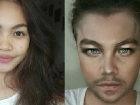 Teen transforms herself into Leonardo DiCaprio and Beyoncé with the power of makeup