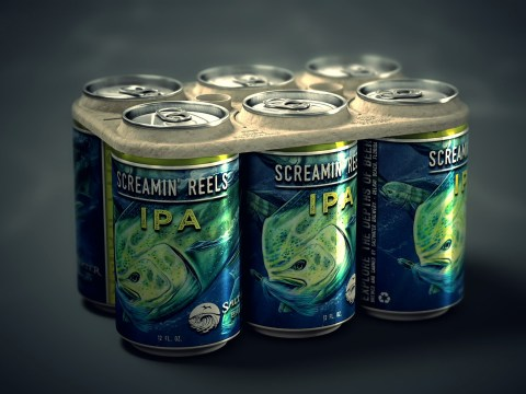 This brewery now makes beer with six-pack rings that are safe for animals to eat