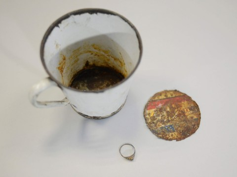Auschwitz mug reveals secrets 70 years after owner was murdered