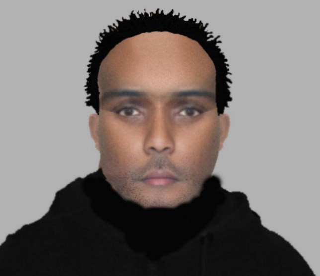 Undated handout efit photo issued by Kent Police of a suspect who is wanted after an elderly couple had boiling water poured on them during a two-hour raid at their home. PRESS ASSOCIATION Photo. Issue date: Thursday May 19, 2016. The victims, aged in their 60s, were tied up and attacked by three men at their property off London Road in Halstead, near Sevenoaks, Kent, just after 9pm on April 26. See PA story POLICE Boiling. Photo credit should read: Kent Police/PA Wire NOTE TO EDITORS: This handout photo may only be used in for editorial reporting purposes for the contemporaneous illustration of events, things or the people in the image or facts mentioned in the caption. Reuse of the picture may require further permission from the copyright holder.