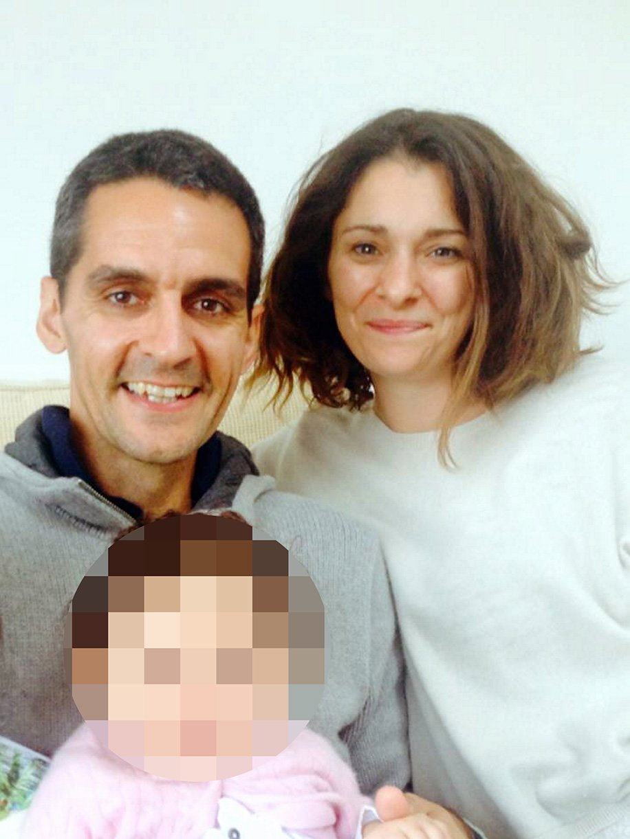 Pictured: Richard Osman (L) with woman believed to be his wife, image found on internet tribute page Re: The British passenger on board EgyptAir flight MS804 which crashed into the Mediterranean has been named locally as Richard Osman. The doctorÌs son, 41, grew up in Carmarthen and was believed to be flying to work for a gold mining company in Egypt when the plane vanished. He was a geologist with a two-year-old daughter and worked for exploration and research companies which involved him travelling widely around the world. There were believed to be 30 Egyptians, 15 French, two Iraqis, and one each from the UK, Belgium, Kuwait, Saudi Arabia, Sudan, Chad, Portugal, Algeria and Canada among the 66 passengers on board the flight.