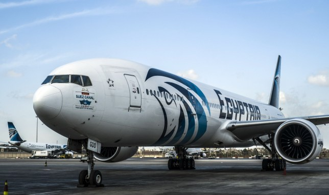 (FILES) This file photo taken on September 30, 2015 shows an Egypt Air plane on the tarmac of Cairo international Airport. ..Egyptian search teams combed the Mediterranean for signs of an EgyptAir flight with 66 people on board that vanished from radar en route from Paris to Cairo on May 19, 2016 the airline said... / AFP PHOTO / KHALED DESOUKIKHALED DESOUKI/AFP/Getty Images