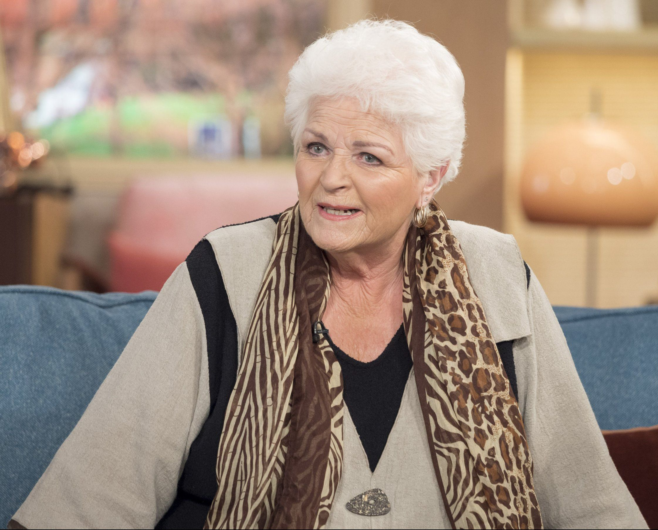 EastEnders' Pam St Clement reveals the bizarre incident that informed her performance as ghost Pat