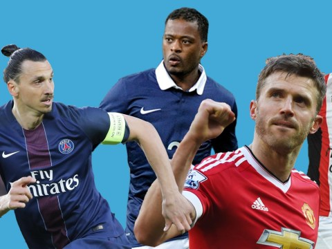 Free agents XI, featuring Manchester United's Michael Carrick and Arsenal transfer target Zlatan Ibrahimovic