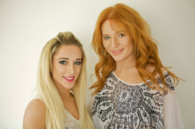 ***ONLINE EMBARGO - 24TH MAY 00.01.AM*** PIC FROM MICK QUINN/MERCURY PRESS (PICTURED: Chloe and Jamie O'Herlihy) These glamorous sisters were brothers until they both came out as transgender at the same time last year. Jamie, 23, a bartender in Dublin and Chloe, 20, a hairdressing student in Cork, spent years struggling with their genders but never talking to anyone about it. But last summer when the then brothers were at home together for Chloeís ñ then Danielís ñ graduation they opened up to each other. Jamie said: ìIts clichÈ to say that I always knew but I did and I just kept pushing it to the back of my mind. SEE MERCURY COPY