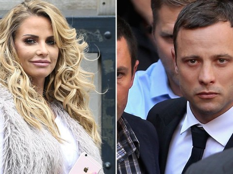 Katie Price reveals Oscar Pistorius was messaging her during his trial
