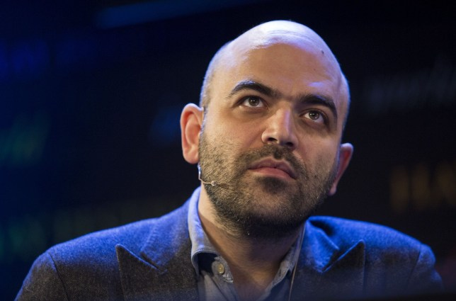 HAY-ON-WYE, WALES - MAY 28: Roberto Saviano, Italian investigative journalist and author of Gomorrah and ZeroZeroZero, at the Hay Festival, on May 28, 2016 in Hay-on-Wye, Wales. (Photo by David Levenson/Getty Images)