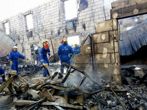 17 people killed in fire at care home for the elderly in Ukraine