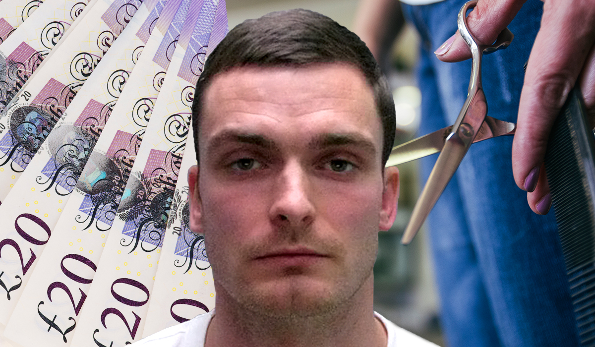 Adam Johnson 'working as a barber earning £20 a week in prison'