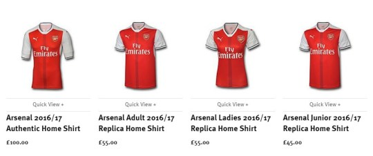 best website 73683 7cd48 Arsenal news: New home kit for 2016/17 season officially ...