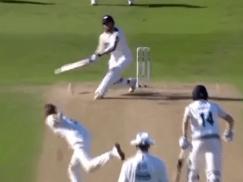 Yorkshire's Johnny Bairstow hits incredible six off Stuart Broad delivery in County Championship epic