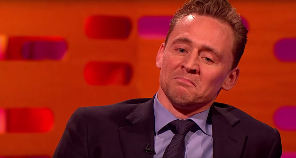Tom Hiddleston on Graham Norton (Picture: BBC)