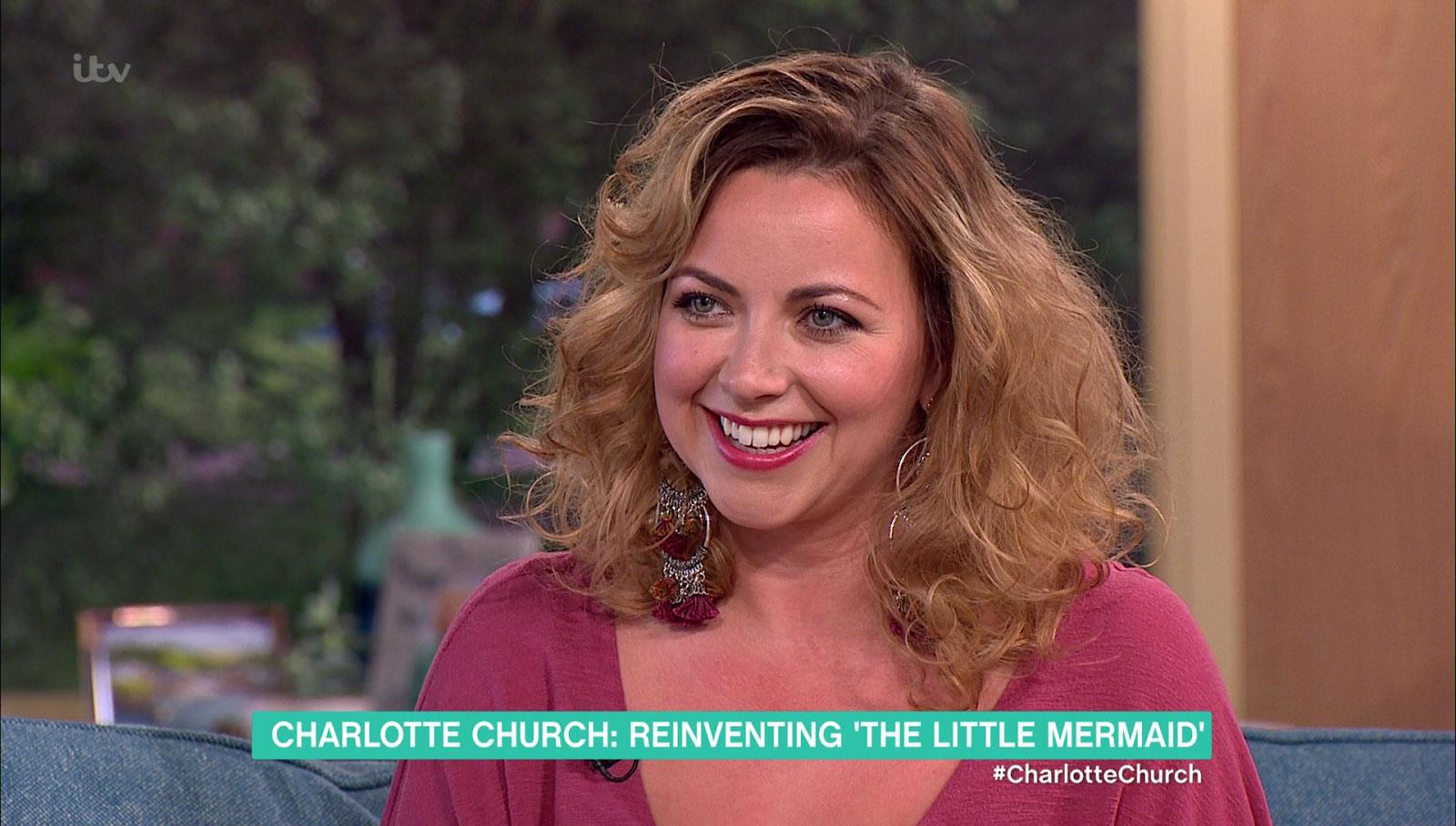 MP Charlotte Church? (Picture: ITV)