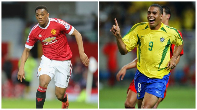 Manchester United's Anthony Martial has been compared to Ronaldo (Picture: Getty)