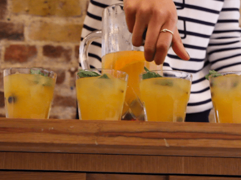 How to make a Brunch Punch cocktail