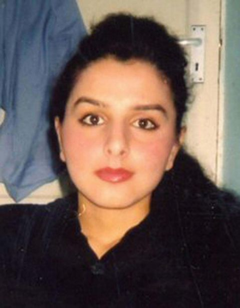 """Banaz Mahmod. Two men go on trial at the Old Bailey today charged with the """"honour"""" killing of Banaz Mahmod. Ms Mahmod, 20, of Mitcham, south London, was strangled and her body buried in a suitcase on the orders of members of her family. Her father and uncle were jailed for life in 2007. Mohammed Saleh Ali and Omar Hussain, both 28, and of no fixed address, deny murdering her between December 2005 and January 2006. PRESS ASSOCIATION Photo. Issue date: Monday October 11, 2010. Undated Metropolitan Police handout photo of See PA story COURTS Honour. Photo credit should read: Metropolitan Police/PA Wire"""