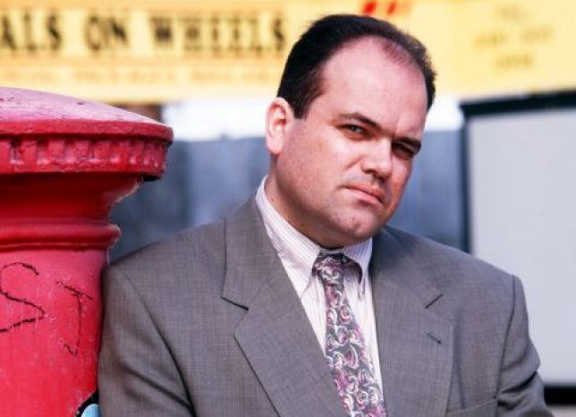 TELEVISION PROGRAMMES... Eastenders; Shaun Williamson pictured as Barry Evans.