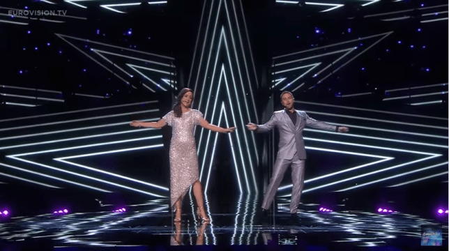 The opening act for the second Eurovision 2016 semi final was stunning (Picture: Eurovision/YouTube)