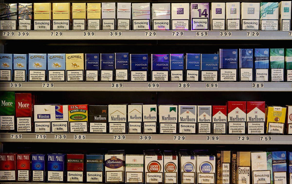 It's the end of the road for 10-packs of cigarettes