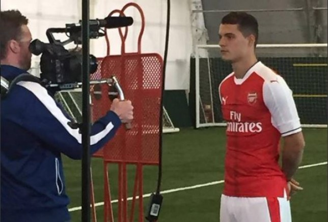 Arsenal Transfer News Granit Xhaka Pictures Suggest Deal Is Done Metro News