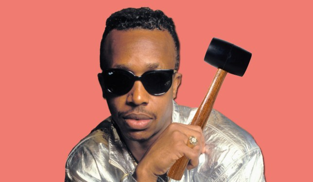 MC Hammer doesn't like hammers Credit: Getty