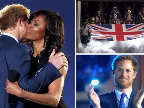 Prince Harry gives emotional speech as he opens Invictus Games with Michelle Obama