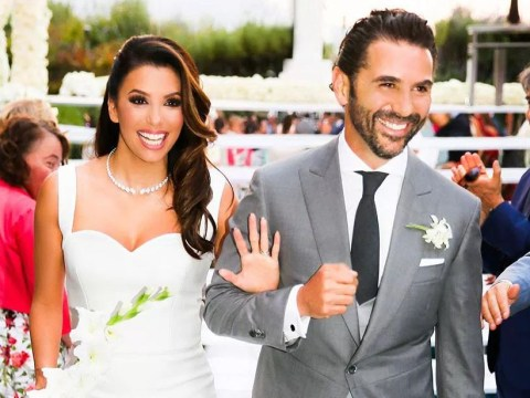 Newlywed Eva Longoria gushes over her Victoria Beckham dress