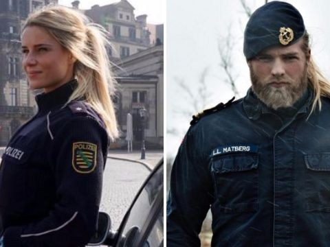 We've found a girlfriend for Thor, the hot Norwegian naval officer