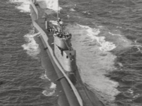 WWII submarine with 71 bodies inside found off Sardinian coast