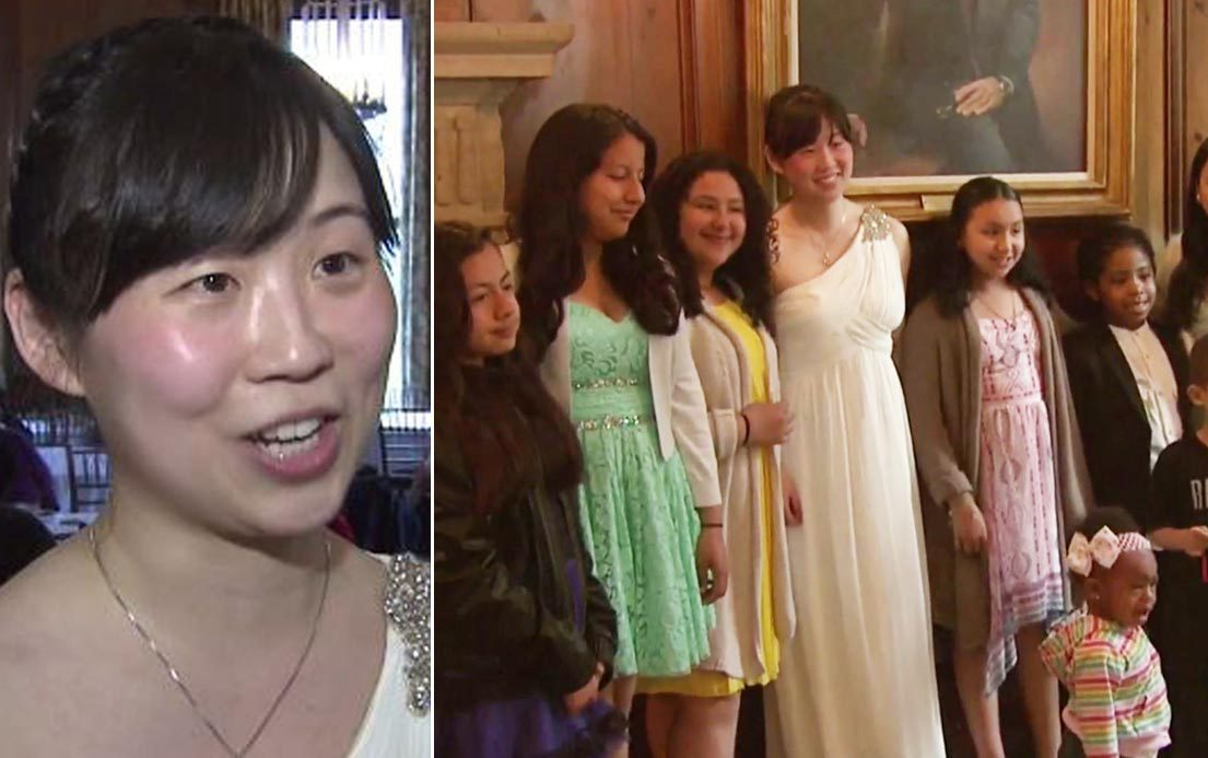 Jilted bride goes ahead with celebrations and feeds needy children instead