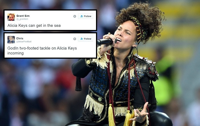 Alicia Keys panned for murdering pre-match entertainment ahead of Champions League final