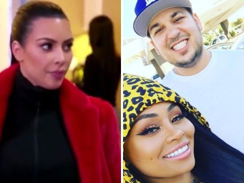 Kim Kardashian rips into her brother Rob and Blac Chyna for 'mocking' Kris Jenner