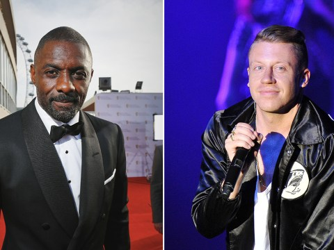 Idris Elba challenges Macklemore to a dance off in new music video