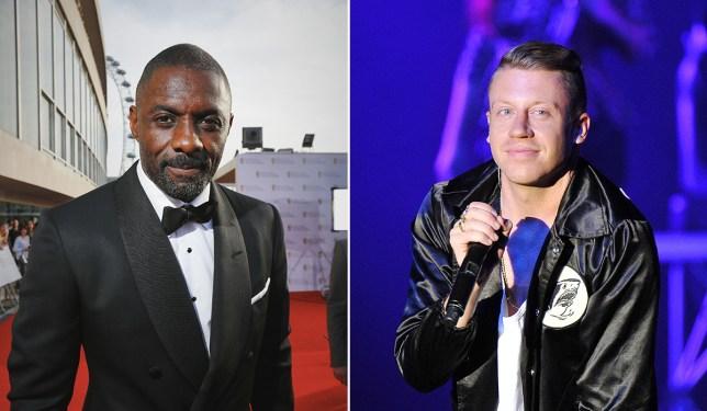 Idris Elba appears in Macklemore video Credit: Rex