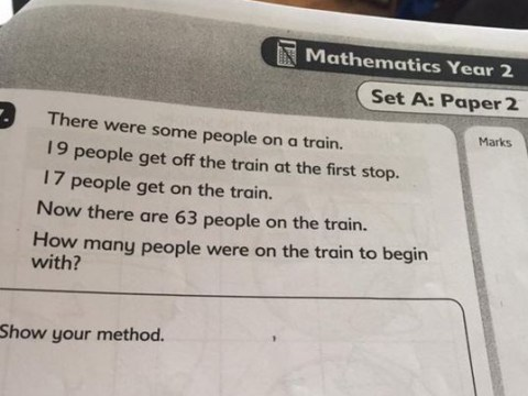 People are getting confused over this simple maths problem for no good reason