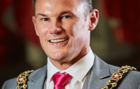 Former Mr Gay UK kicked out of RAF for his sexuality sworn in as Lord Mayor