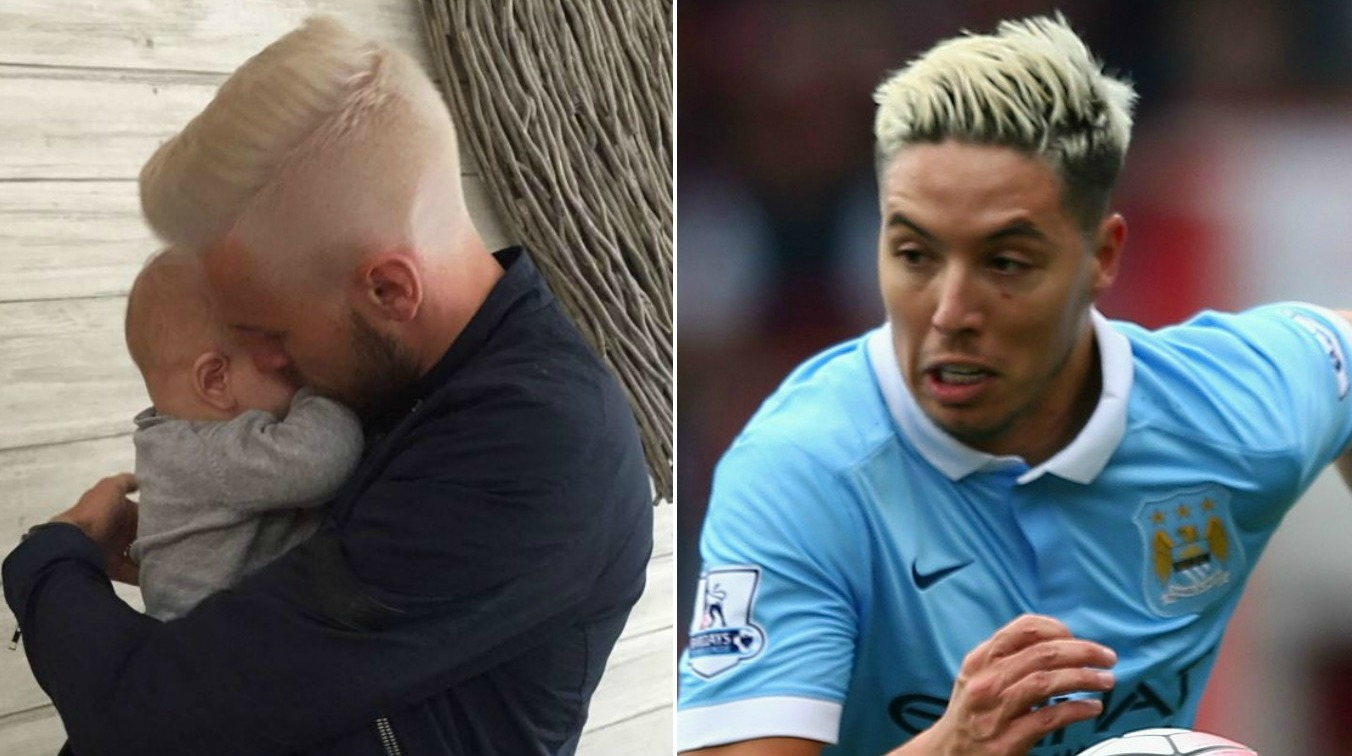 Arsenal midfielder Aaron Ramsey goes full Samir Nasri with new hairstyle ahead of Euro 2016