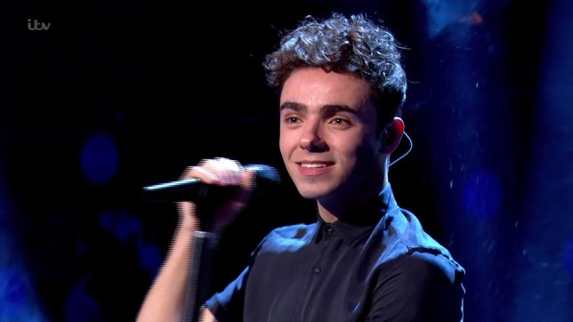 Nathan Sykes performed on Live At The London Palladium (Picture: ITV)